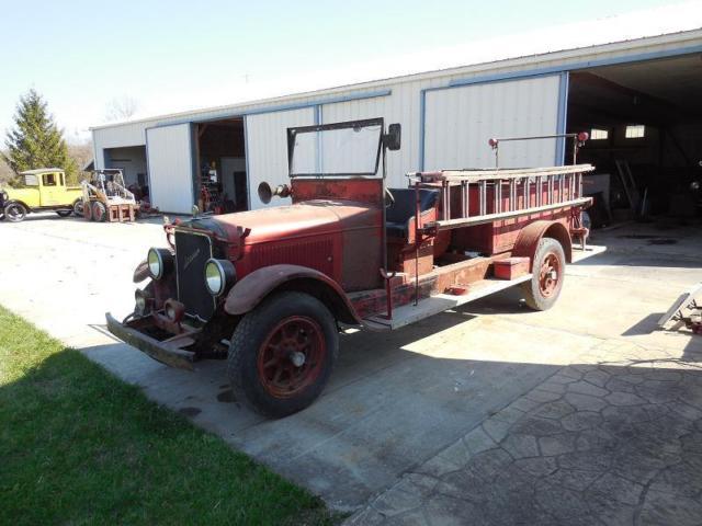 1928 reo speedwagon firetruck for sale: photos, technical