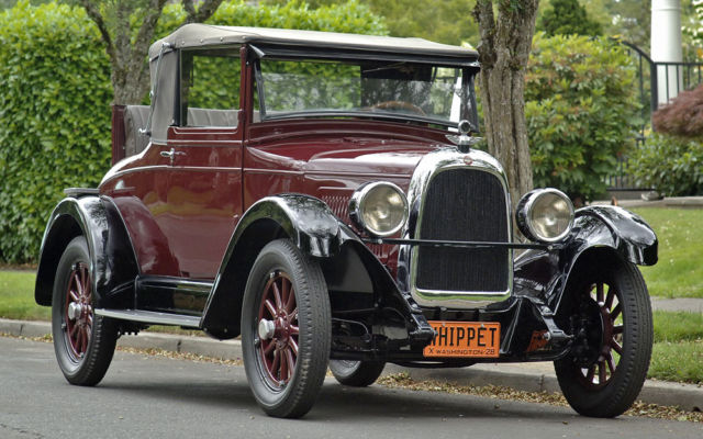 1928 Willys Overland : Model 96 Cabriolet Coupe :