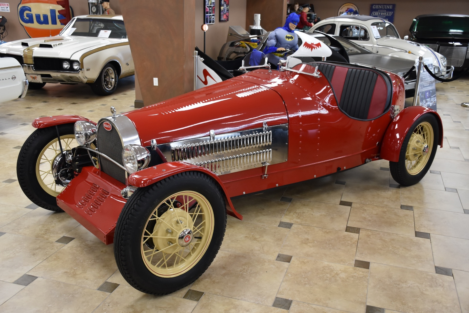 1928 Z Bugatti T35 Boattail Replica 350CI V8 PRIVATE COLLECTION