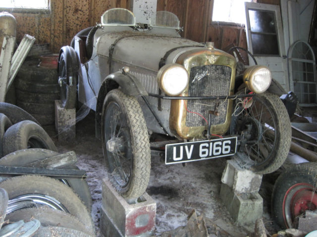 1929 austin 7 seven sports for sale photos technical for Red barn motors austin tx