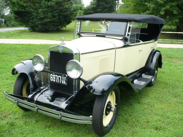 1929 Chevrolet Phaeton Touring Convertible For Sale