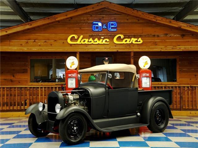 1929 Ford Model A Roadster TH350 Auto Trans