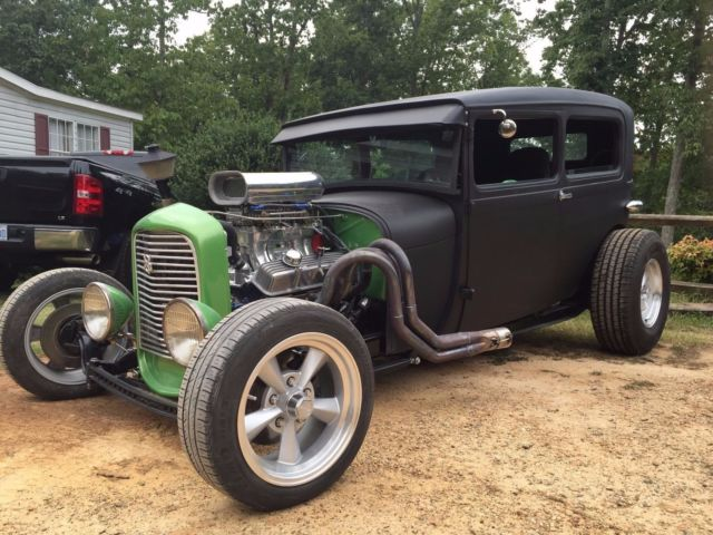 1929 ford model a 2 door sedan hot rod custom for sale for 1929 dodge 4 door