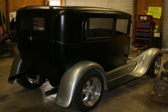 1929 ford model a 2 door sedan project rat street hot rod for 1929 model a 2 door sedan