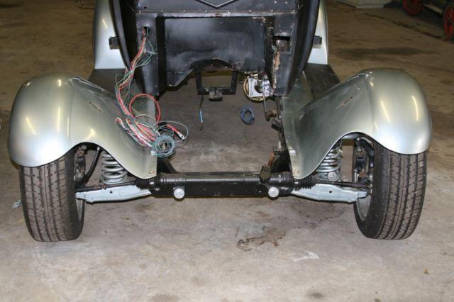 1929 ford model a 2 door sedan project rat street hot rod