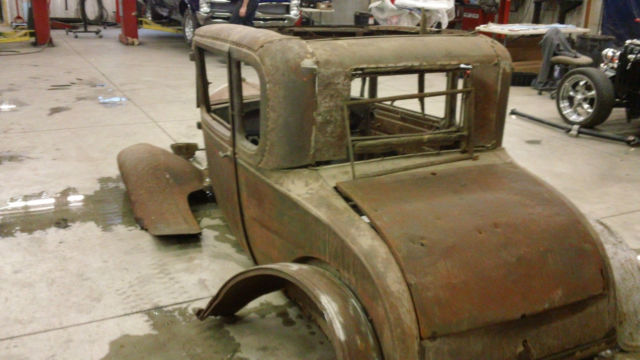 1929 ford model a coupe project car very buildable complete body for sale photos technical. Black Bedroom Furniture Sets. Home Design Ideas