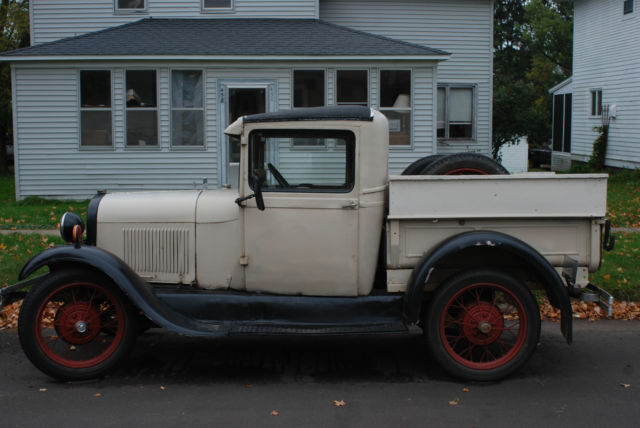 1929 ford model a pick up daily driver barn find patina truck flathead for sale photos. Black Bedroom Furniture Sets. Home Design Ideas