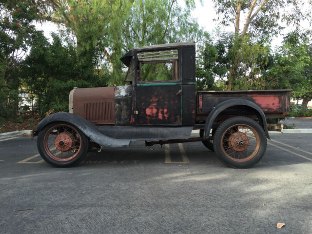1929 Ford Model A Pickup Truck Rat Rod, No reserve for sale: photos ...