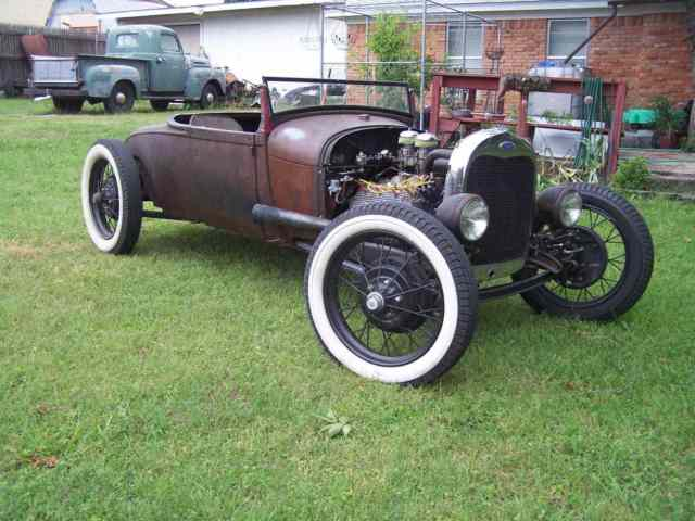 Ford Flathead V8 For Sale 1929 Ford Model A Roadster, Original Henry Ford Steel