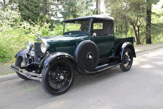 1929 Ford Model A Roadster Pickup - RESTORED. See VIDEO