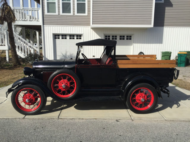 1929 ford model a roadster pickup truck for sale photos technical specifications description. Black Bedroom Furniture Sets. Home Design Ideas