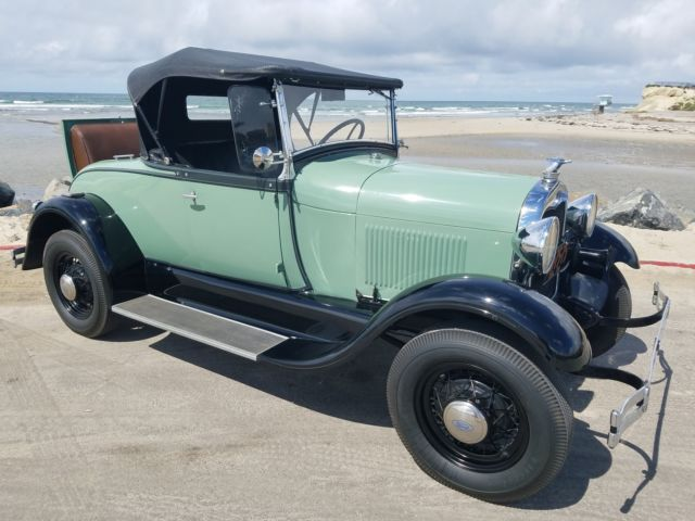 1929 Ford Model A ALL HENRY FORD STEEL RUMBLE SEAT ROADSTER