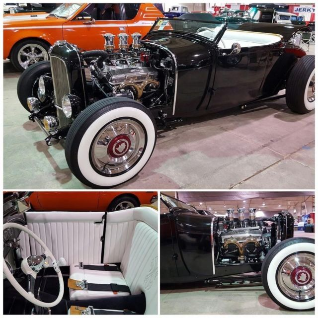 1929 Ford Model A Coupster