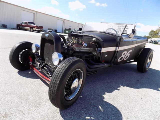 1929 Ford Model A 400 - Turbo 350 Trans - Drum Brakes