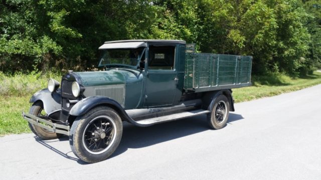 1929 Ford Model A Ford AA Dump