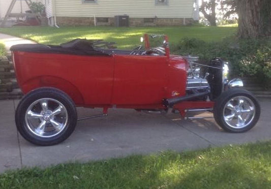 1929 Ford Tudor Model A Custom