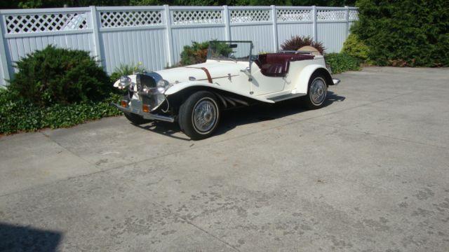 1929 Mercedes Gazelle Replicar Kit Car 81 Vw Engine For Sale Photos