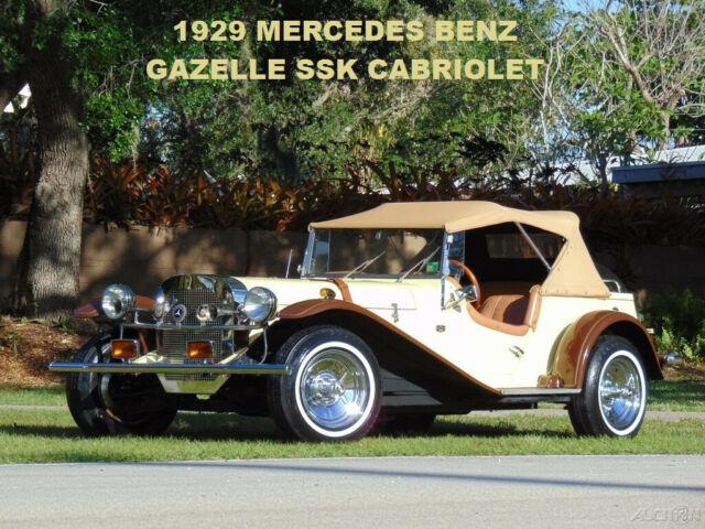 3k In Miles >> 1929 Mercedes Gazelle Ssk Cabriolet Must See Beautiful 3k