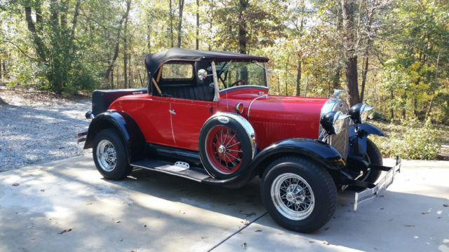 1929 Ford Model A Shay