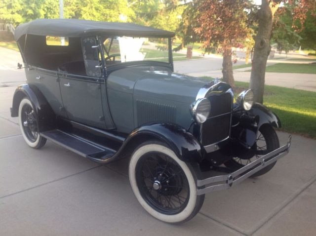 1929 Ford Model A PHAETON
