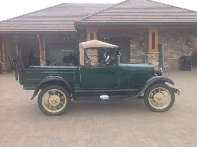 1929 Ford Model A Standard Roadster, Numbers Matching
