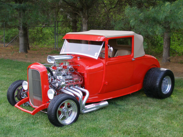 1932 Ford Model A Sport coupe