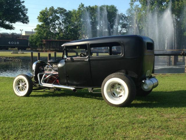 1929 model a sedan hot rod rat rod traditional custom. Black Bedroom Furniture Sets. Home Design Ideas