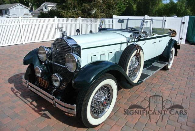 1929 Packard Touring Car For Sale: 1929 Packard 645 Sport Phaeton