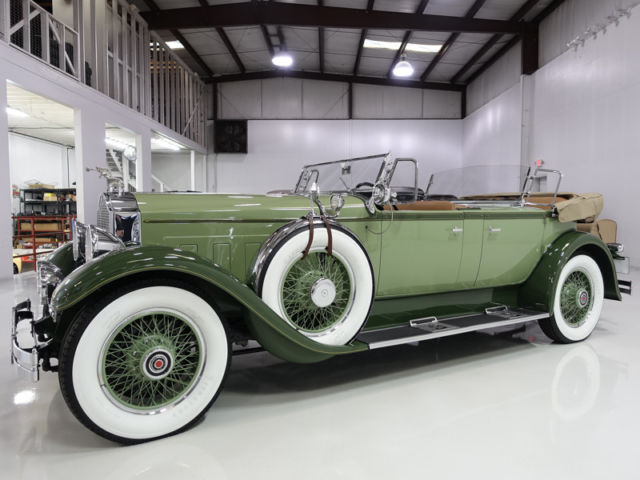 1929 Packard Deluxe Eight Dual Cowl Sport Phaeton by Dietrich