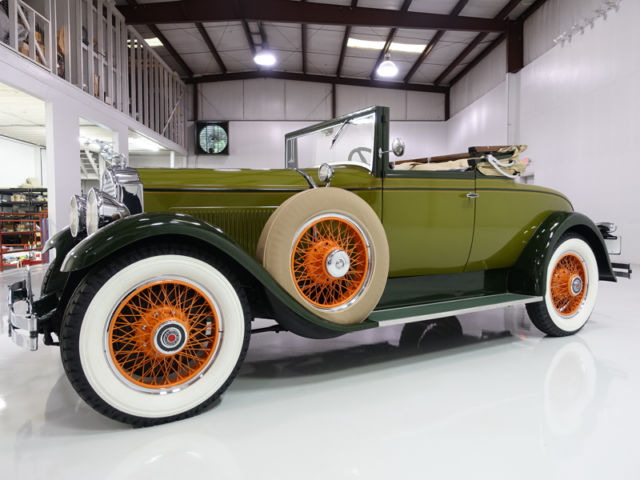 1929 Packard Eight 626 Eight 626 Rumble Seat Convertible Coupe