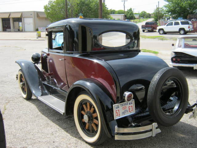 1929 Pontiac Other ALL STEEL RESTORED 3 WINDOW COUPE
