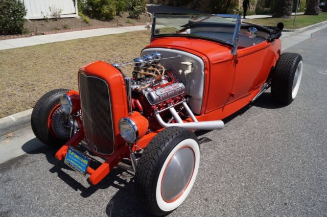 1930 Ford Model A CUSTOM ALL STEEL 5 SPEED HOT ROD ROADSTER!