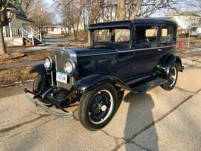 1930 Chevrolet 2 door AD sedan universal AD