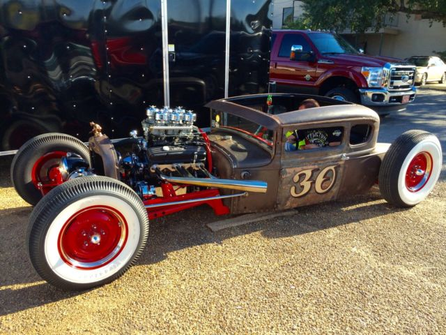 1930 Ford Model A Rat Rod Hot Rod Pro Street Blown Show Car