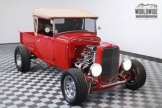 1930 Ford Model A $35K Build 4 wheel disc! Leather 350/700R4