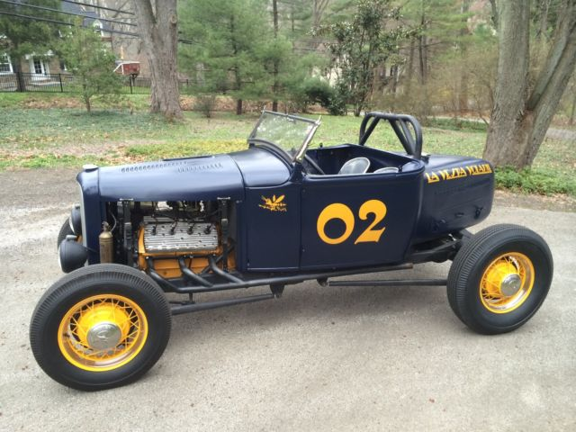1930 Ford Model A Boat Tail Speedster