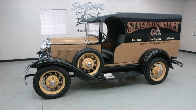 1930 Ford Model A C-Cab Dlvry