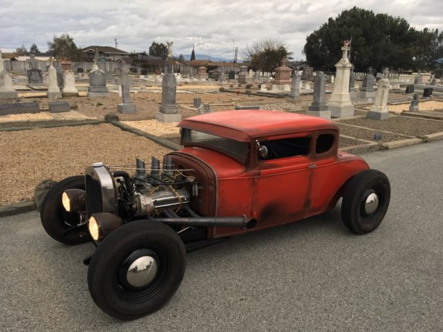 1930 Ford Model A Chopped / Channeled Hot Rod V8