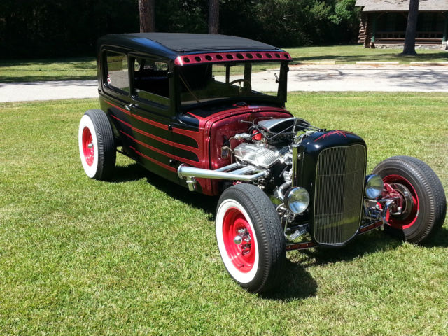 1930 Ford Model A Rat Rod, Hot Rod