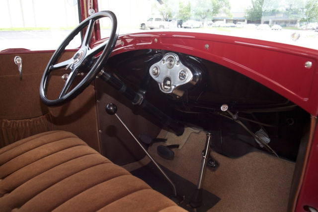 1930 ford model a lebaron bonney interior 5 window push button starter for sale photos. Black Bedroom Furniture Sets. Home Design Ideas