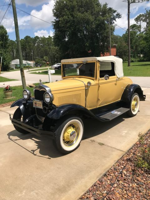 1930 Ford Model A Modified Coupe