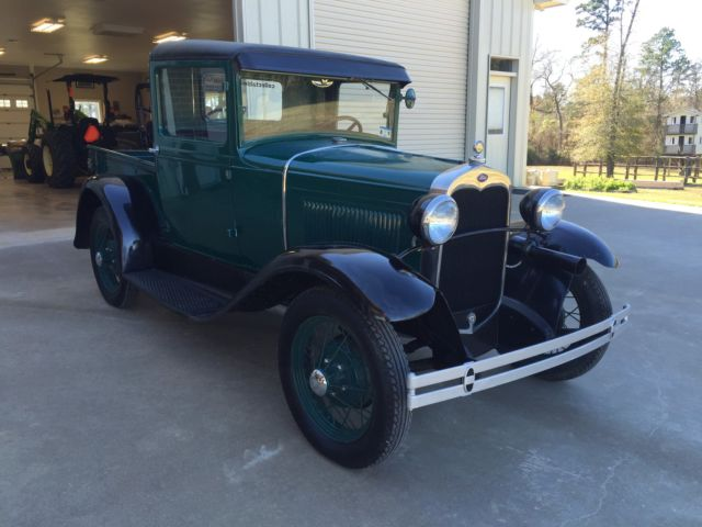 1930 ford model a pickup truck barn find rare texas classic vintage collector for sale photos. Black Bedroom Furniture Sets. Home Design Ideas