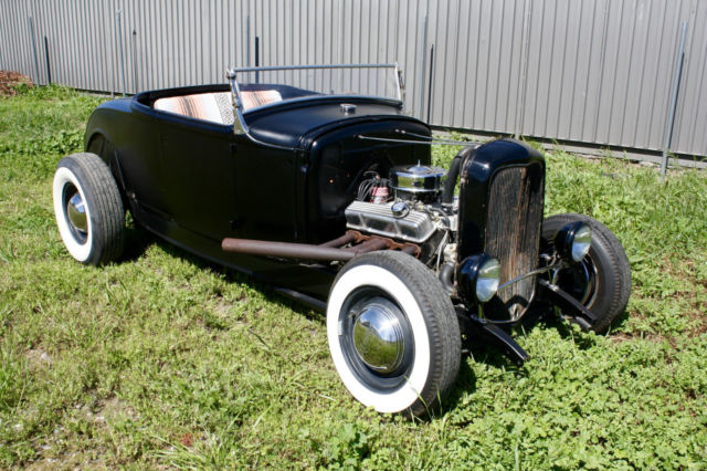 1930 Ford Model A Roadster, Henry Ford Steel, 1932 Ford Frame