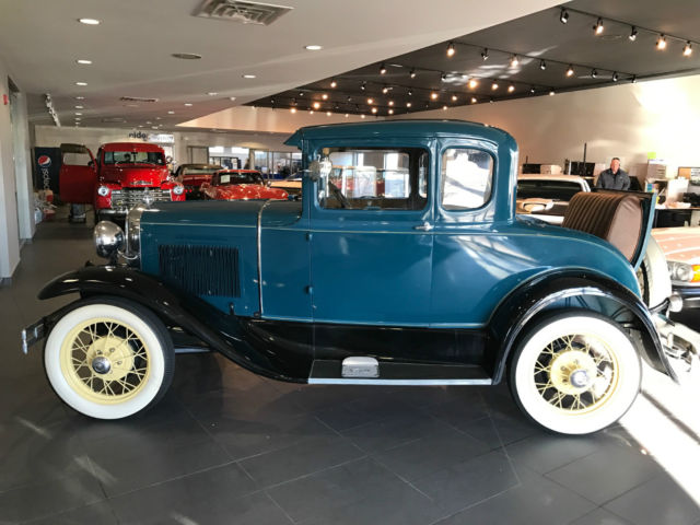 1930 Ford Model A Rumble Seat