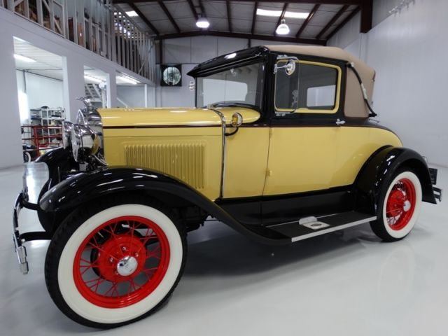 1930 Ford Model A SPECTACULAR RESTORATION! FORMER MUSEUM CAR!