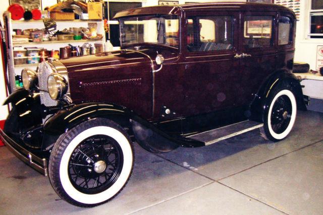1930 model a town sedan