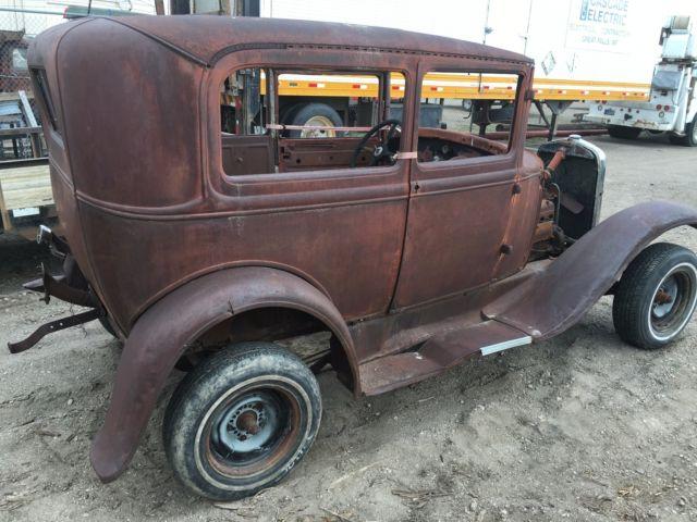 1930 Ford Model A Tudor Sedan Streetrod Hotrod Ratrod