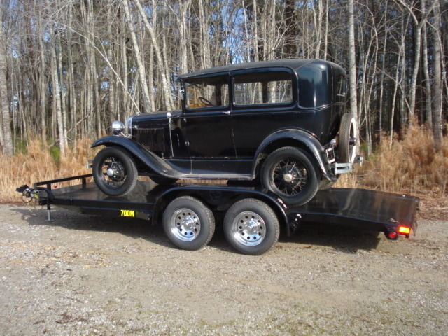 1930 ford model a two door tudor sedan w new big tex for 1930 ford model a two door sedan