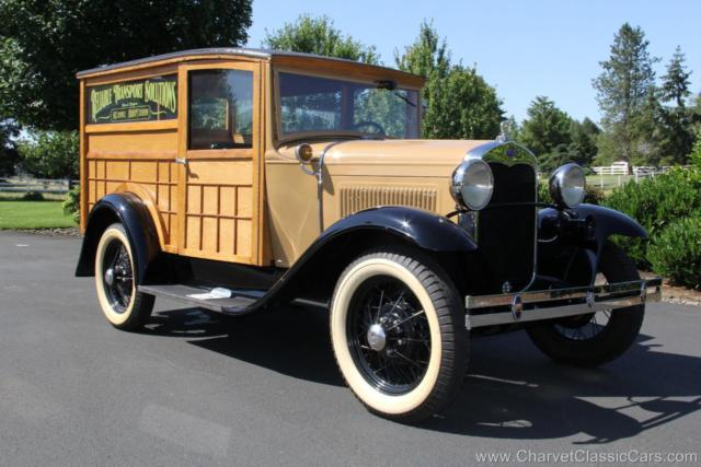 1930 Ford Model A Woodie Special Delivery. Restored. GORGEOUS!