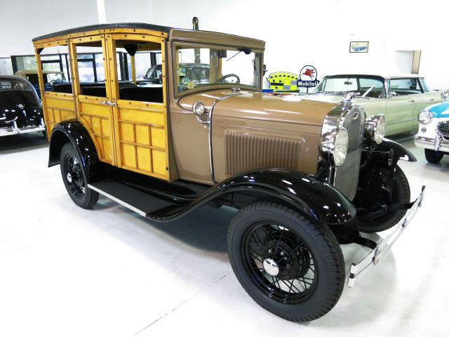 1930 Ford Model A Woodie Station Wagon
